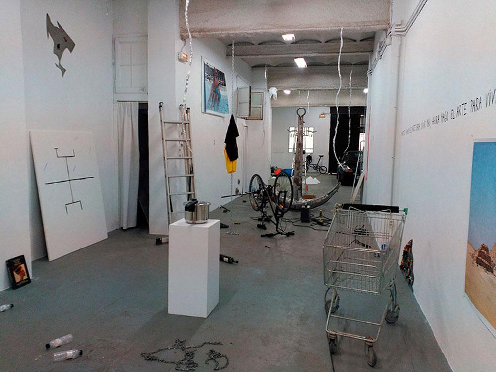 Hacer cosas, 2016 - exposiciones