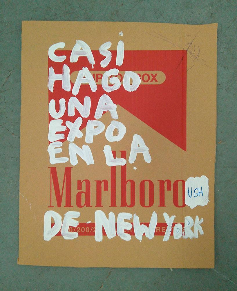 Casi hago una expo en la Marlborough de NY, 2017 - otras-exposiciones