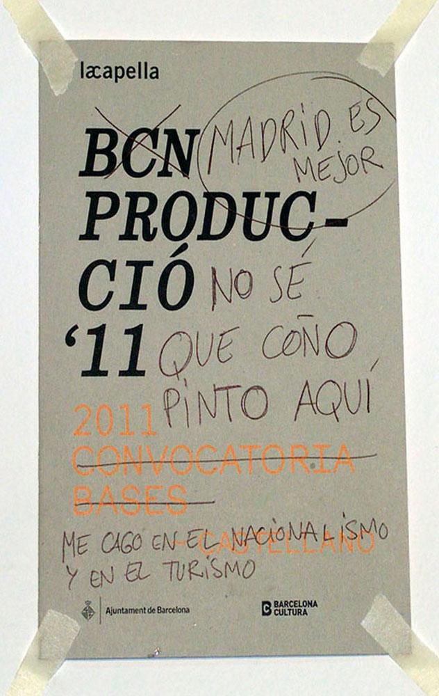Bases BCN Producció, 2011 - miscelanea