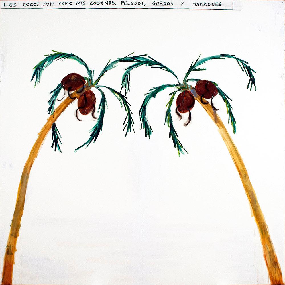 Cocos, 2013 - pinturas