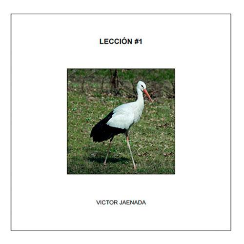 Catálogo lección #1, 2013 - autopublicaciones